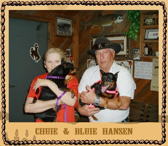 Chuie & Bluie with Mom & Dad
